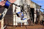 город-призрак малонаселенные районы австралии — Стоковое фото