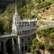 Las Lajas Cathedral, Colombia — Stock Photo