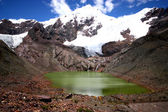 Landscape in National park Huascaran, Peru. — Stock Photo