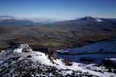 View from volcan Cotopaxi, Ecuador. — Stock Photo