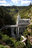 Las Lajas cathedral in Ipiales, Colombia. — Stock Photo