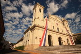 Catholic cathedral in Asuncion, Paraguay. — Stock Photo