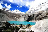 Lagoon 69, National park Huascaran, Peru. — Stock Photo