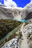 Magnificent Lagoon 69, National park Huascaran, Peru. — Stock Photo
