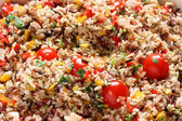 Wild rice salad — Stock Photo