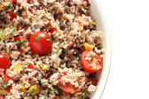 Wild rice salad — Stock Photo