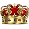 Royal Gold Crown — Stock Photo