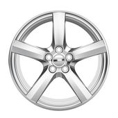 Car alloy wheel — Stock Photo