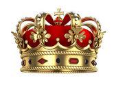 Coroa real de ouro — Foto Stock