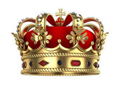 Royal Gold Crown — Foto Stock