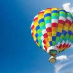 Hot air ballon — Stock Photo