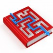 Royalty-Free Stock Photo: Book labyrinth concept