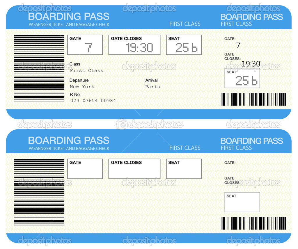 Boarding Pass Vliegtickets Stockfoto 169 Sashkin7 11399893