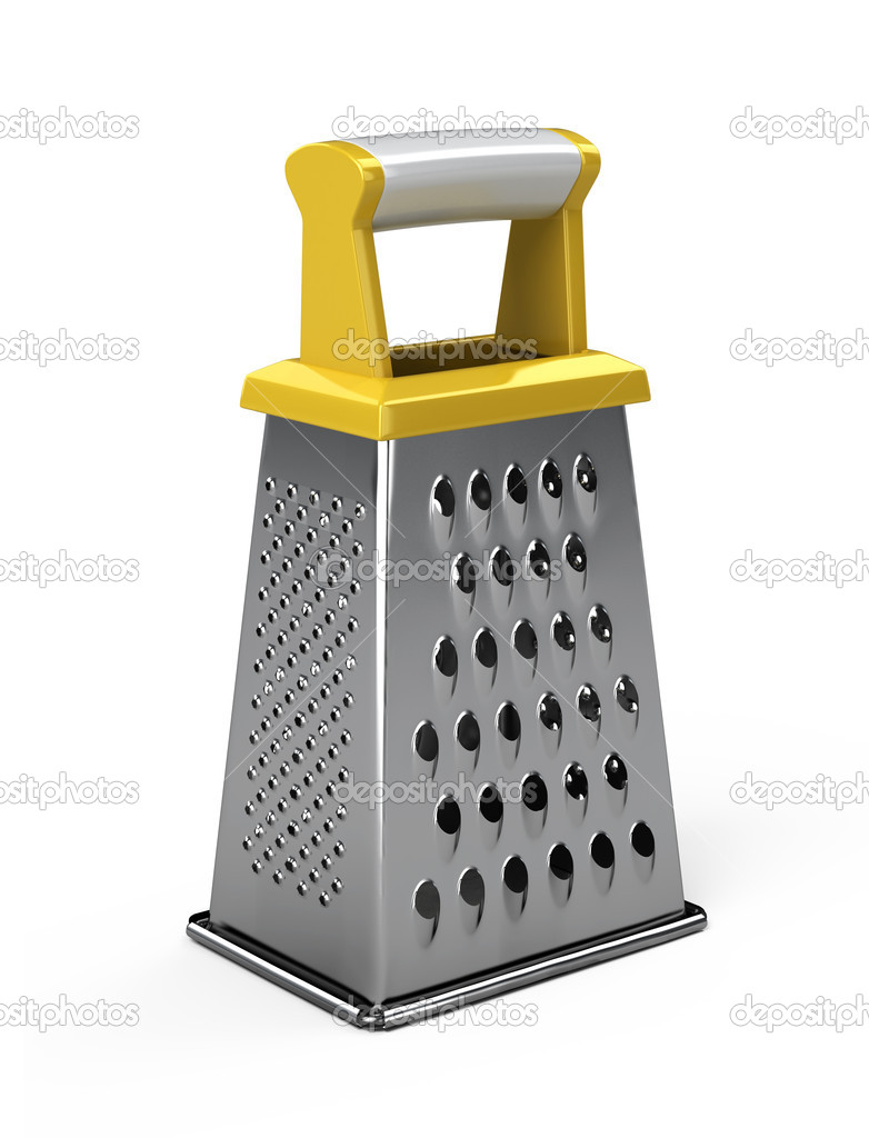Grater isolated on white background - 3d render — Stock Photo #11399962