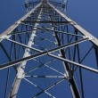 Stock Photo: Electric pole