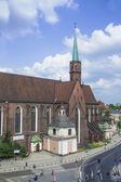 Iglesia en wroclaw — Foto de Stock