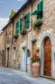 Italian small town view — Stock Photo