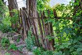 Valla de madera editado con hdr — Foto de Stock