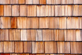 Wooden shingle background — Stock Photo
