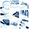 Stock Photo: Finance collage