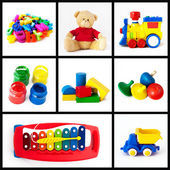 Toys collection — Stock Photo