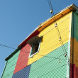 colorful house — Stock Photo