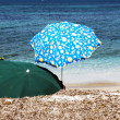 Beach umbrellas — Stock Photo #11989709