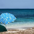 Beach umbrellas — Stock Photo #11989736