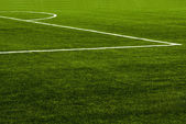 Soccer field grass — Stock Photo