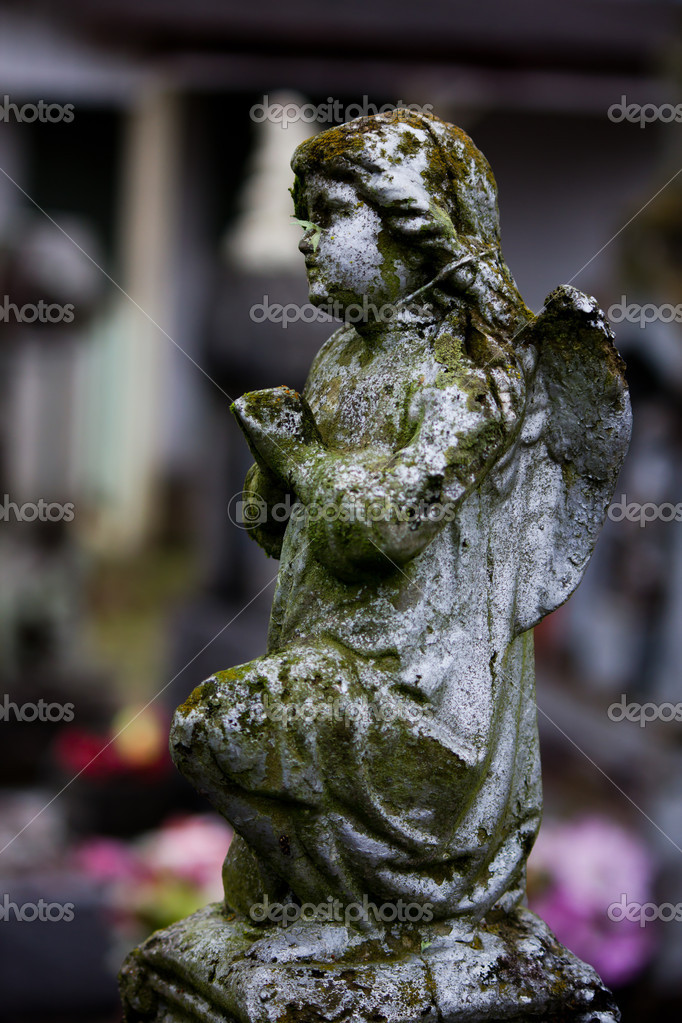 Detais of a grave in the cemetery. — Stock Photo #11979273