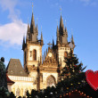 Christmas in Prague — Foto Stock