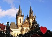 Christmas in Prague — Stock Photo