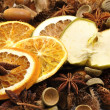 herfst decoratie - fruit — Stockfoto