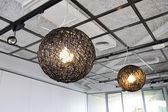 сферические лампы — Стоковое фото