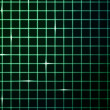 Green Laser Light Grid Background — Stock Photo