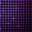 Royalty-Free Stock Photo: Violet Laser Light Grid Background