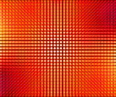 Red LED Dots Abstract Background — Stock Photo