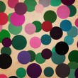 Retro Dots Background Illustration — Stock Photo