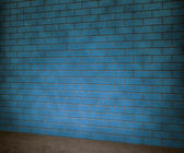 Sfondo di muro di mattoni blu — Foto Stock