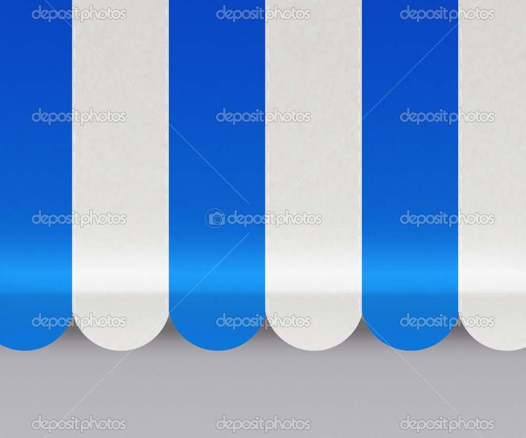 Blue Awnings Background  Stock Photo #11139960