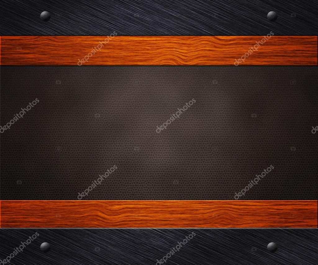金属木材皮革背景 — 图库照片08backgroundstor