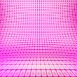 Violet Lights Stage - Stock Photo
