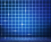Blue Laser Digital Wall Background — Stock Photo
