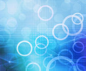 Circles Blue Abstract Background — Stock Photo
