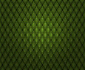 Green Quilted Leather Texture — Stock Photo
