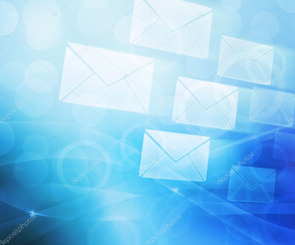 Blue Mail Abstract Background — Stock Photo © BackgroundStor #11295068