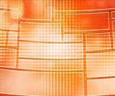 Orange Database Background — Stock Photo