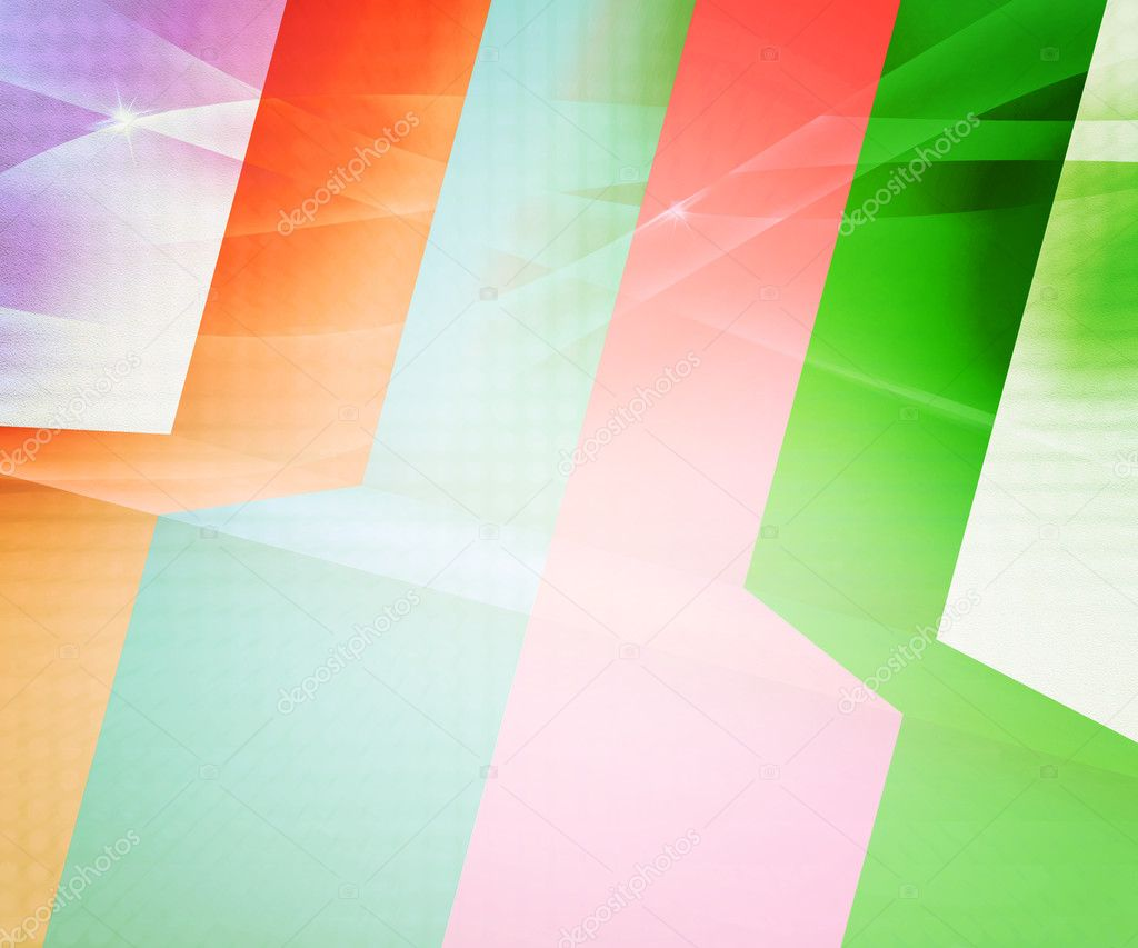 Retro Stripes Abstract Background  Stock Photo #11372008