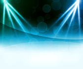 Blue Laser Abstract Background — Stock Photo