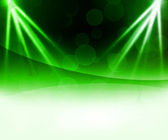 Green Laser Abstract Background — Stock Photo